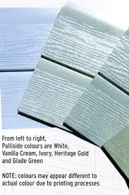 Palliside Colour Chart Palliside Structural Pvc Forever Boards