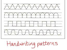 Writing Patterns Mesmerizing Writing Patterns Nursery Themes Writing Patterns ShowMe