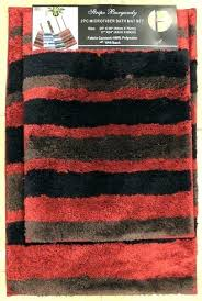 red bath rug and black bathroom rugs bright