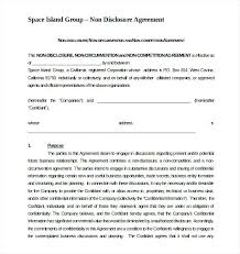 Hold Harmless Agreement Template Non Compete Free Printable – Pitikih