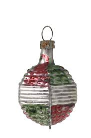 Tollkühn Nostalgie Christbaumschmuck Ornament Rot Grün
