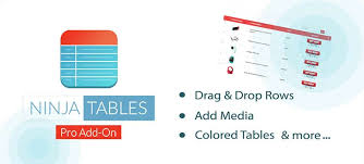 Wordpress Comparison Chart 10 Best Wordpress Table Plugins To Organize Data Compared