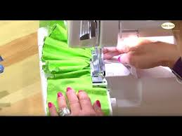 How To Use A Serger Sewing Machine Video