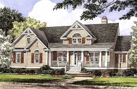 Home Plan The Knoxville by Donald A  Gardner ArchitectsFront Color