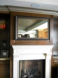 mirror tv. how to frame your flat screen tv. this has a two-way mirror inside tv