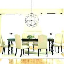 chandelier height over table kitchen table chandelier linear chandelier