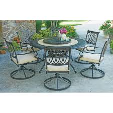 round patio table seats 6 designs