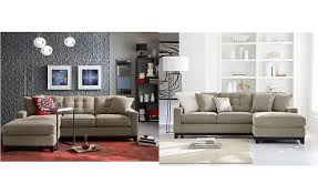 clarke fabric 2 piece sectional sofa
