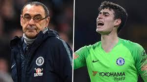 Chelsea-Coach Sarri lässt Einsatz von Kepa gegen Tottenham offen