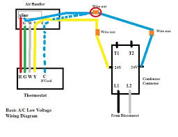 attaching common wire for thermostat on hvac end doityourself 4 wire thermostat at 24 Volt Thermostat Wiring Diagram