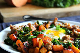 Ham and broccoli frittata serve this tasty egg dish with some seasonal fresh fruit for a hearty breakfast. Tasty Diabetes Friendly Breakfast Ideas