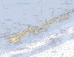 Noaa Charts Florida Keys Marathon And Duck Keys Custom Noaa Nautical Chart