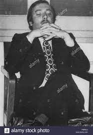 Italian criminal Lorenzo Bozano . 6 May 1973. Nazzaro 49 Lorenzo Bozano  Stock Photo - Alamy