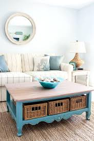 And After Coffee Table Coastal Beach Condo Decor Furniture Ideas Living
