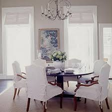 Picturesque Design Slip Covers For Dining Room Chairs All Dining Room