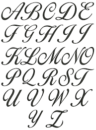 Lettering Letters Design No 120 Lara Script 3 Letter Monogram Machine Embroidery