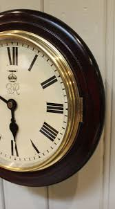 8 inch post office dial clock england 1942 antique post office wall clocks