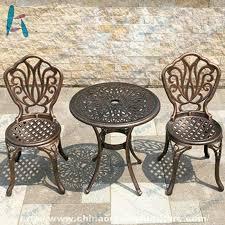 china customized 3 piece cast aluminum