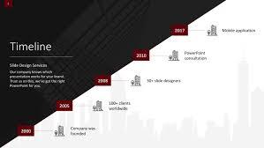 Timeline Powerpoint Slide Download Modern Timeline Powerpoint Slide Templates Slidestore