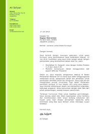 Cover Letter Sample Template For Fresh Graduate In Civil Engineering