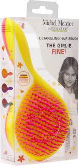 <b>Щетка</b> Michel Mercier, <b>детская для тонких</b> волос, желтый