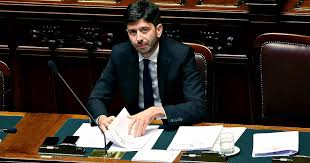 Coronavirus, il ministro della Salute Roberto Speranza ...