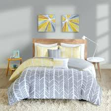 yellow and grey bedding sets intelligent design yellow grey comforter set yellow and grey bedding sets