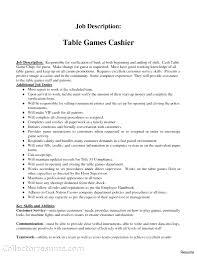 Cashier Job Resume Cashier Job Resume Food Description Model Duties Vesochieuxo 77