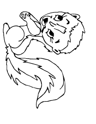 Small Picture Cute Cartoon Animal Coloring Pages Coolagenet