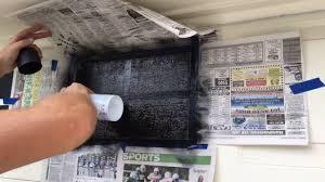 Faux Garage Door Windows Fake Garage Door Windows With Plasti Dip Review Youtube