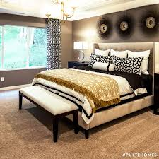 bedroom decor with black furniture. gold tones paired with black accents creates gothicchic vibes in this stunning bedroom decor furniture