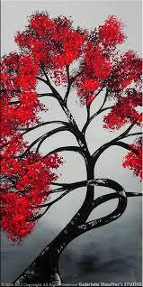 wall decor tree painting