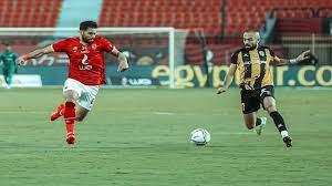 نتيجة مباراة الاهلي والمقاولون الدوري المصري