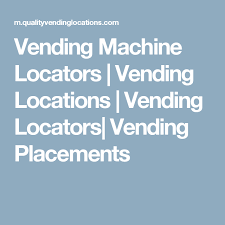 Vending Machine Locator Service Cool Vending Machine Locators Vending Locations Vending Locators