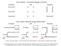 drum switch single phase motor wiring diagram wiring diagram Single Phase Reversible AC Motor Wiring Diagram at Wiring Diagram For Forward Reverse Single Phase Motor