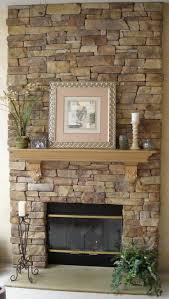 Mantel On Stone Fireplace Best 20 Stone Fireplace Makeover Ideas On Pinterest Corner