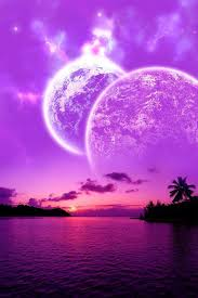 Purple Ocean Sunset Displaying 19 Gallery Images For