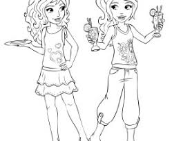 Small Picture Lego Friends Coloring Pages Coloring Page Social Lego Friends