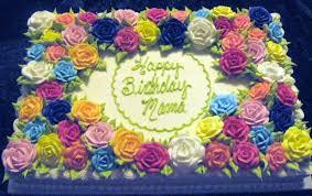Floral Sheet Cake CakeCentral