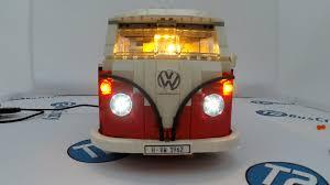 Led Light Kit Install In The Lego Volkswagen T1 Camper 10220
