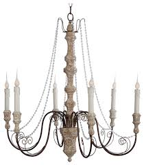 monceau crystal swag french country large 6 light chandelier