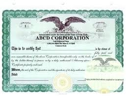 download stock certificate template electronic stock certificate template 1 blank corporate