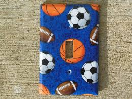 Sports Light Switch Plates Sports Balls Light Switch Plate Cover Favorites Switch