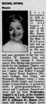 Myrna Brown - Newspapers.com
