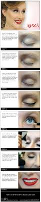 the cliest 1950 s makeup look
