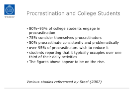 teaching procrastination a way of helping students to improve their  teaching procrastination a way of helping students to improve their study habits