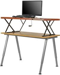 Halter Manual Adjustable Height Sit / Stand Tabletop Desk (Adjustable  Height Table Top Sit /