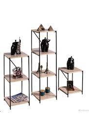 Ofisbazaar Metal 3'lü Çok Amaçlı Raf - Meşe/siyah Fiyatı, Yorumları -  TRENDYOL