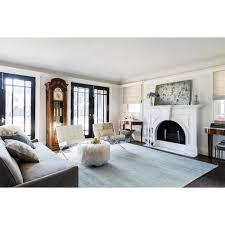 innovative ideas light blue rug living room blair regency light blue bamboo silk rug 4x6 kathy