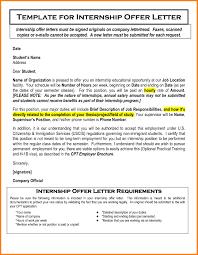 6 letter name offer letter format of a company new 6 letter for internship format